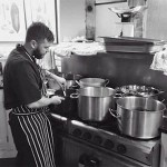 Welcoming chef Oliver Charnock